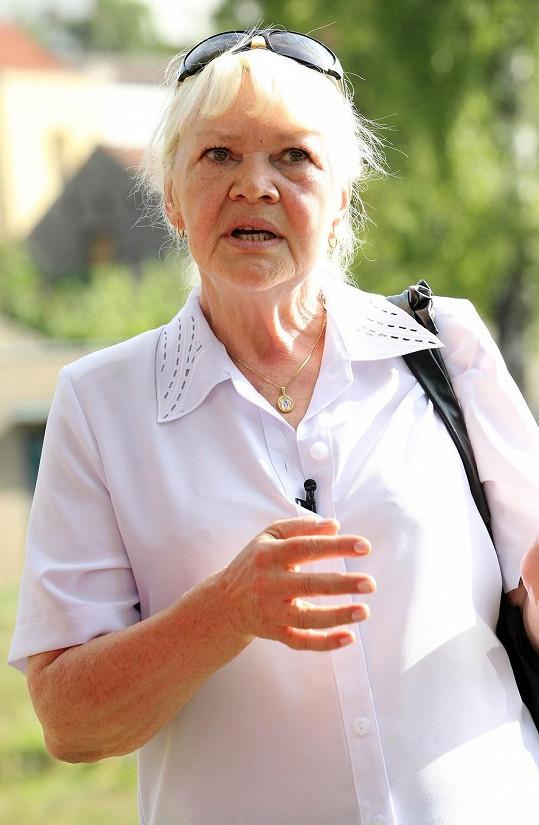 Paní Hana Brejchová označila kolegyně Žilkovou a Zawadskou za své přítelkyně.