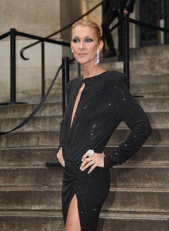 Céline Dion na přehlídce Alexandra Vauthiera