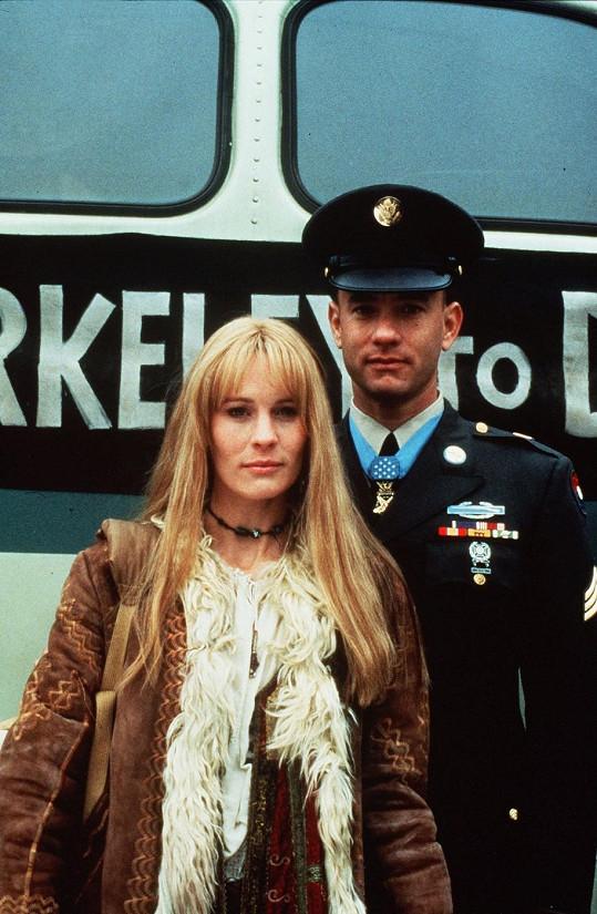 Robin jako Jenny ve Forrestu Gumpovi.
