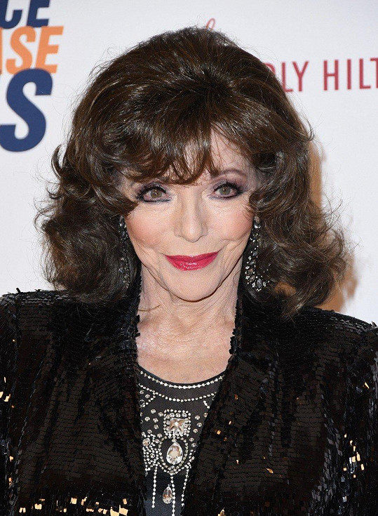 Joan Collins se rozváděla čtyřikrát.