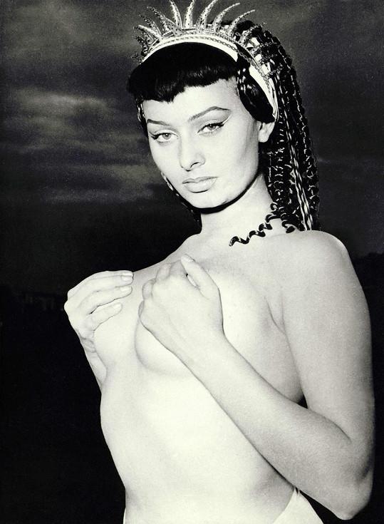 Mladičká herečka v roce 1953