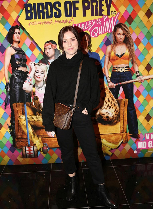 Premiéry filmu Birds of Prey (Podivuhodná proměna Harley Quinn) si nenechala ujít spousta známých tváří včetně Mariany Prachařové.
