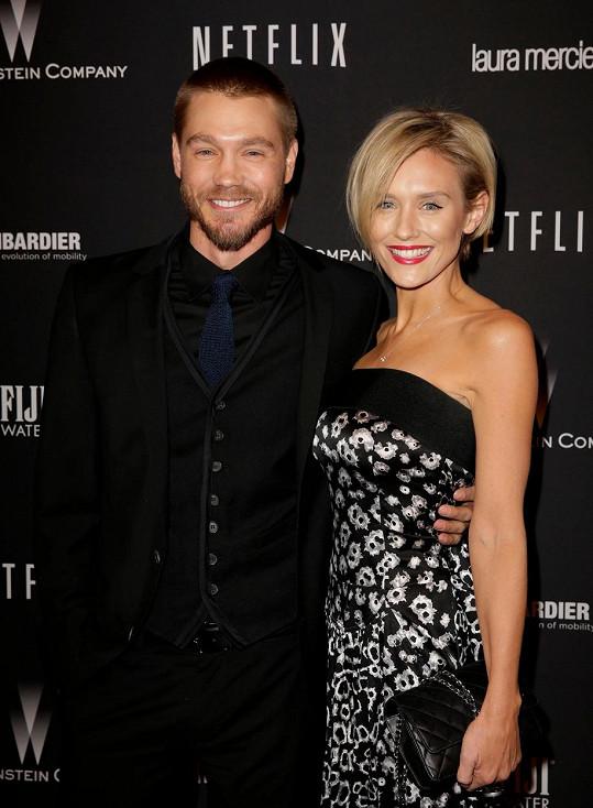 Chad s bývalkou Nicky Whelan