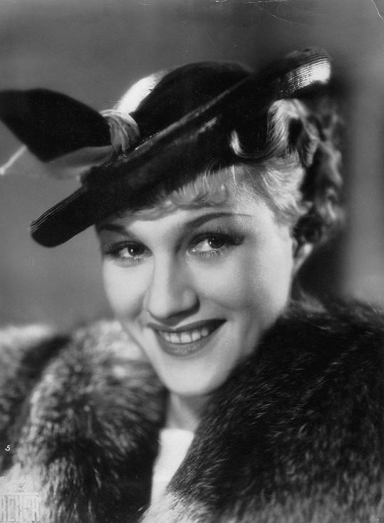 Adina Mandlová ve filmu Harmonika (1937)