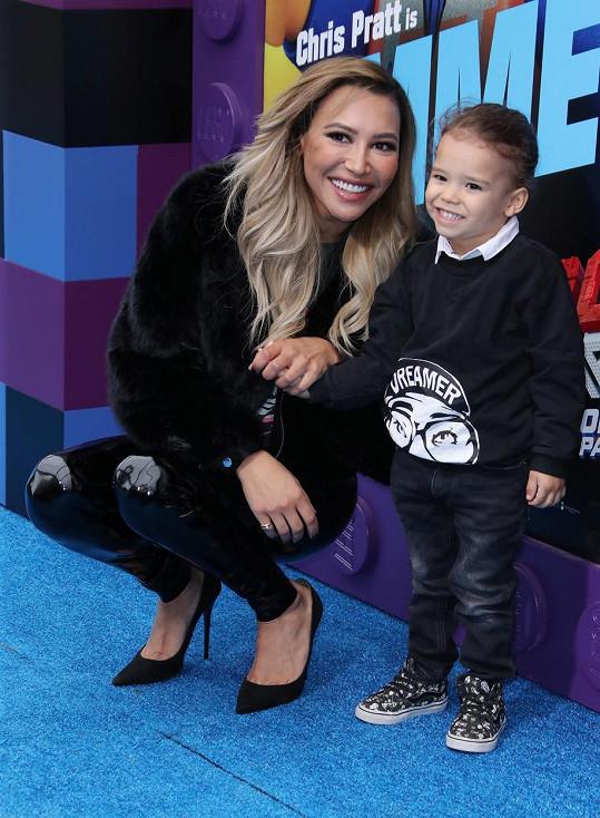 Naya a její syn Josey