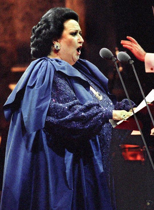Opervní pěvkyně se proslavila hitem Barcelona.