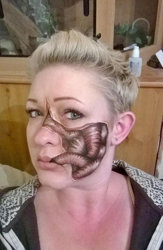Nikki to nyní chce zkusit i u filmu jako maskérka.
