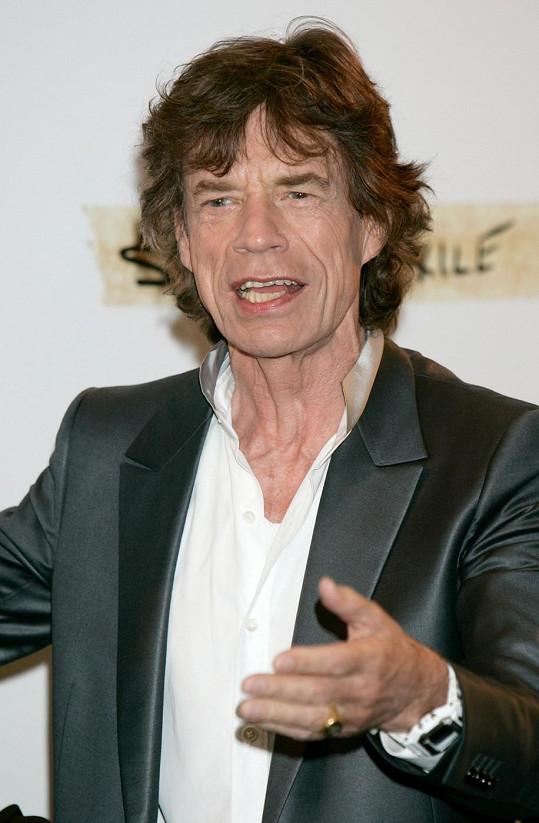 Jagger v roce 2010.