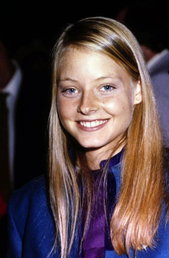 Takhle vypadala Jodie v osmnácti letech.