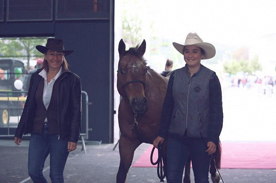 Koně do života Vandy Hybnerové odjakživa patří.
