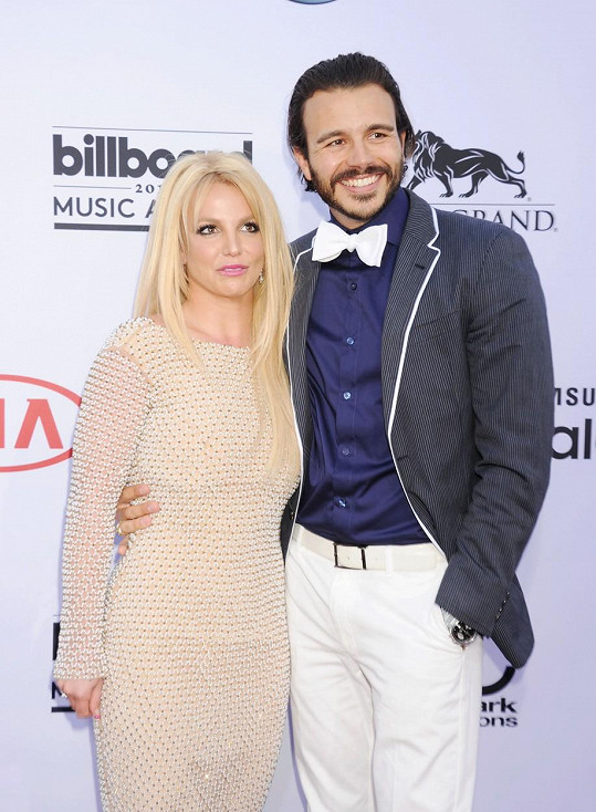 Britney a Charlie na udílení Billboard Music Awards