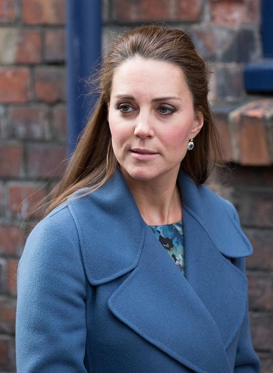 Před třemi týdny těhotné vévodkyni chyběla jiskra v oku.