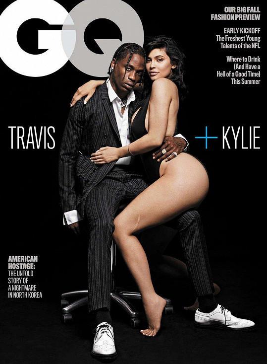 Kylie a partner Travis Scott jsou ve vztahu dva roky a mají devítiměsíční dceru Stormi.
