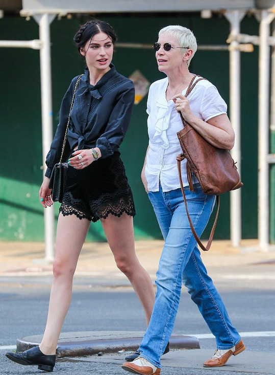 Se slavnou maminkou Annie Lennox
