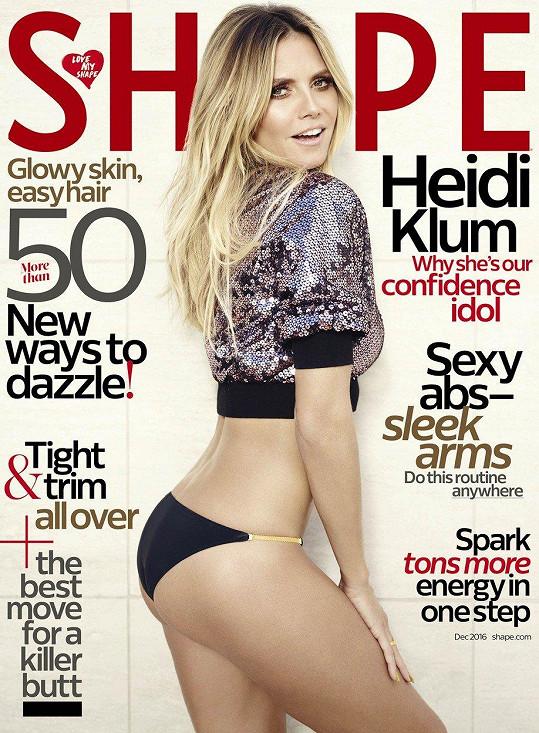 Heidi Klum umí okouzlit.