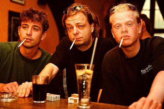 Jan Dolanský, Milan Šteindler a Radek Kuchař ve filmu Perníková věž (2002)