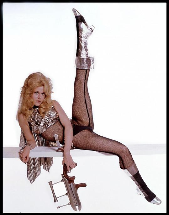 Jane Fonda jako Barbarella (1968)