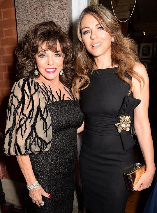 S hereckou kolegyní Elizabeth Hurley