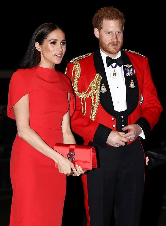 Princ Harry a jeho žena Meghan se zúčastnili charitativního koncertu v Royal Albert Hall.