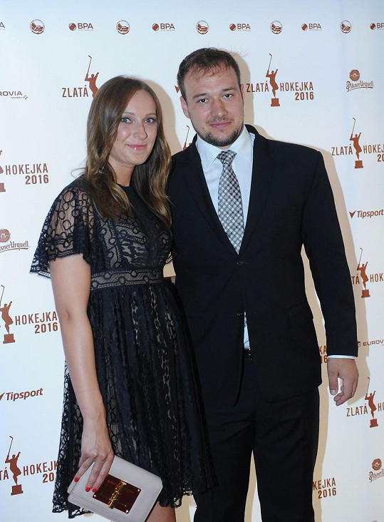 Kapitán nároďáku Jan Kovář s manželkou