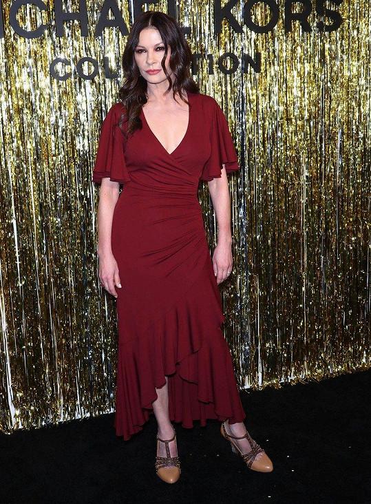 Catherine Zeta-Jones letos oslaví padesátiny.