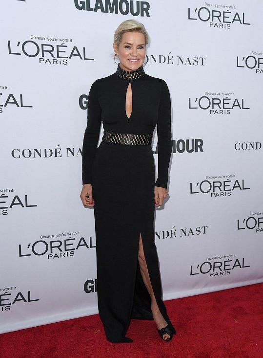 Yolanda Hadid je bývalou modelkou.