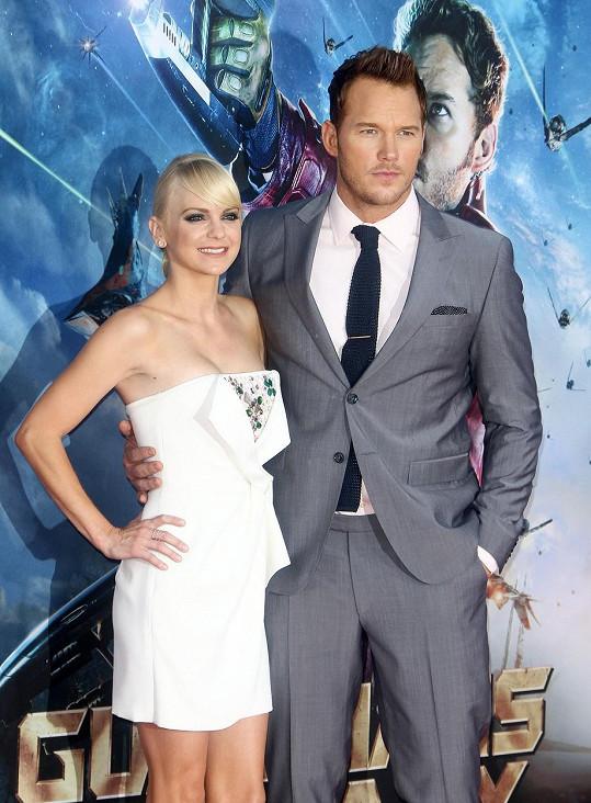 Za Chrise Pratta byla provdaná deset let. Mají spolu syna Jacka.