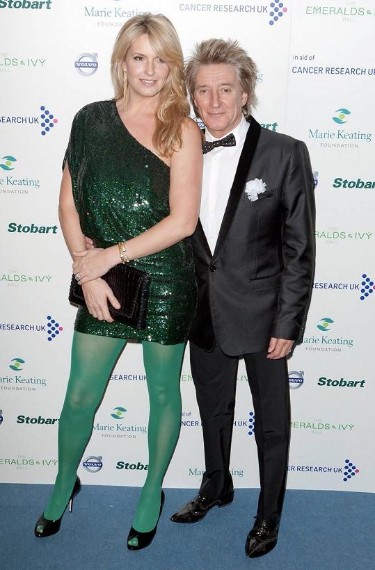 Rod Stewart a Penny Lancaster