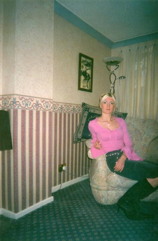 Lisa jako teenagerka trpěla anorexií