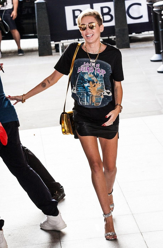 Popová diva navštívila Londýn.