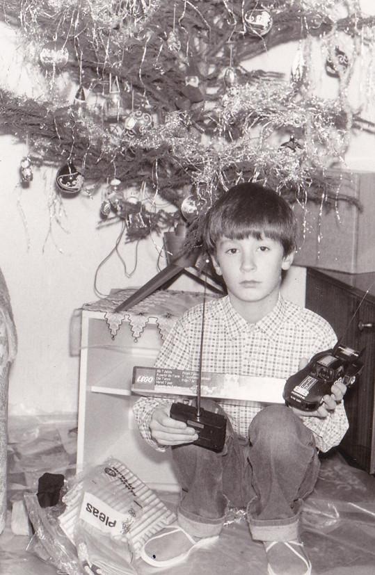 Vánoce, během kterých se Petr Vágner dozvěděl, že Ježíšek neexistuje.