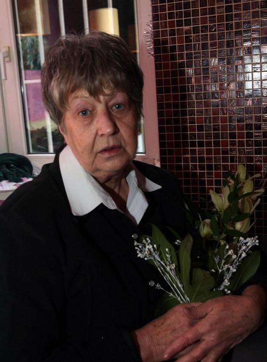 Marie Kyselková marně čeká na zprávu od syna.
