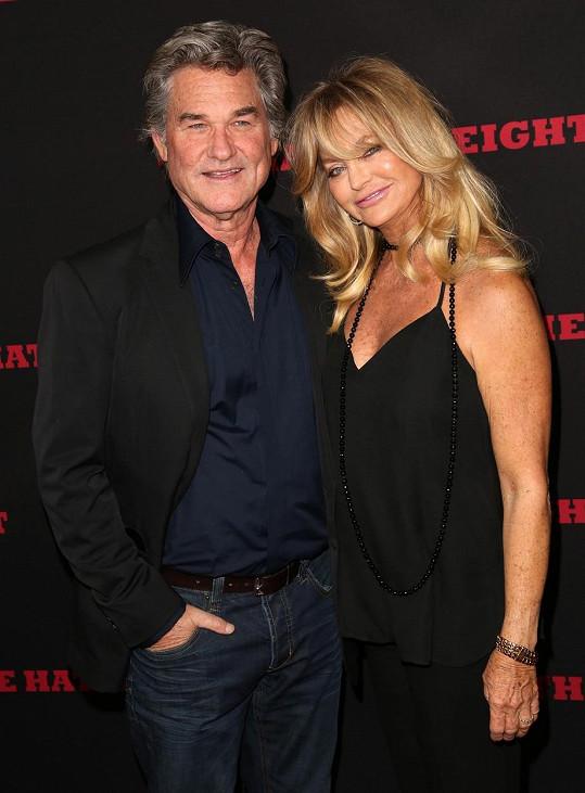 Goldie a Kurt spolu žijí už 32 let, přesto netvoří manželský pár.