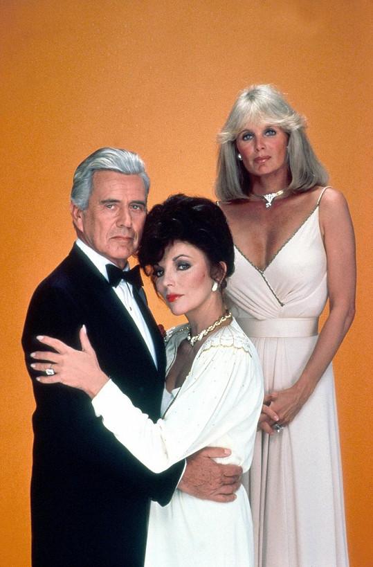 Collins proslula seriálem Dynastie.