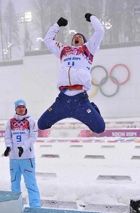 Olympijská radost Ondřeje Moravce