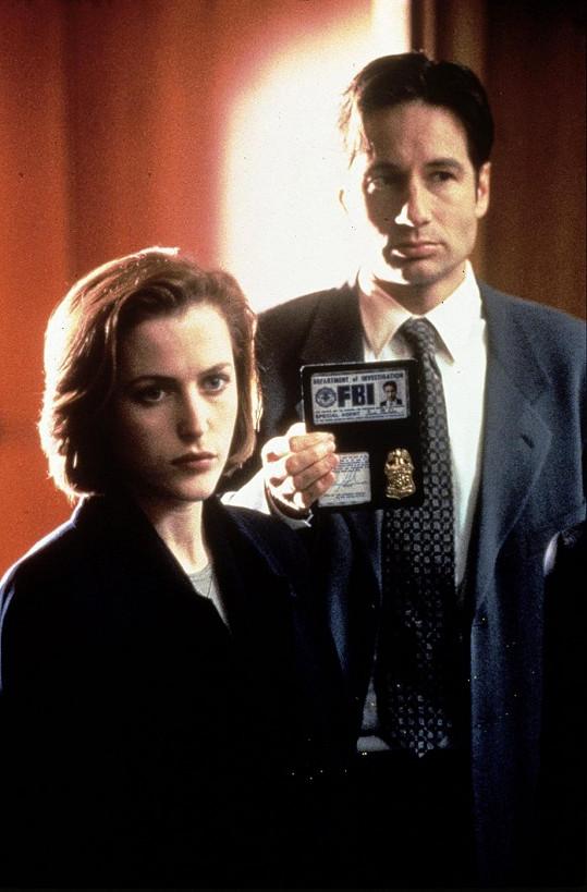 Mulder a Scullyová v seriálu Akta X