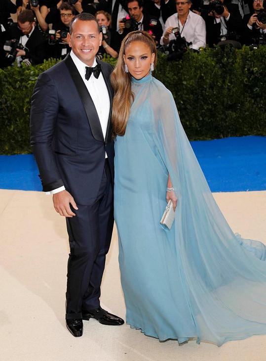 Jennifer Lopez a Alex Rodriguez poprvé ve společnosti