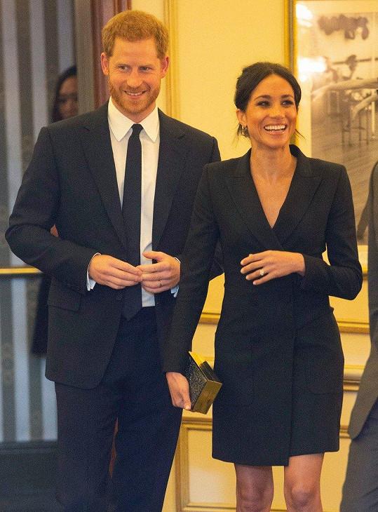 Harry a Meghan vypadali skvěle.