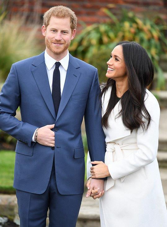 Meghan Markle a princ Harry se vezmou 19. května na hradě Windsor.