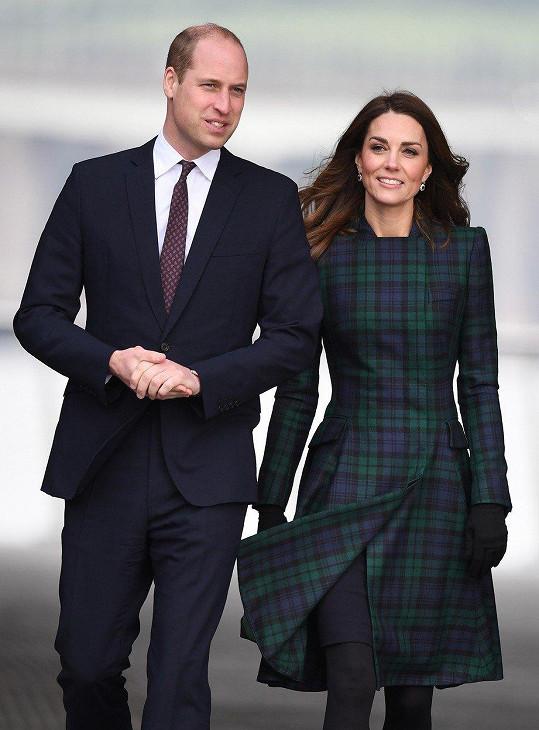 Meghan popřáli veřejně i princ William s vévodkyní Kate