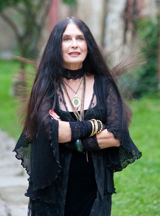 Zuzana Kocúriková v roce 2011 při natáčení filmu Spiknutie.