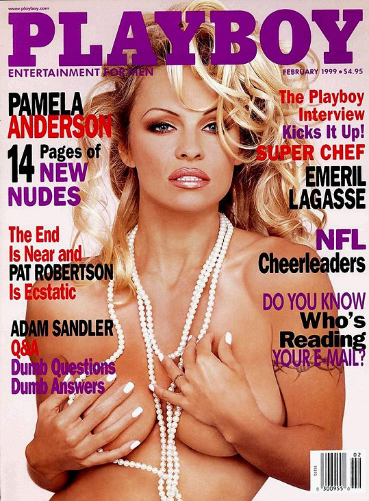Proslula díky obálkám Playboye...