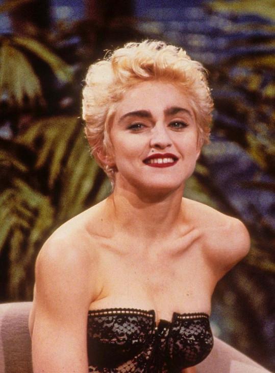 Madonna ve svých 29 letech