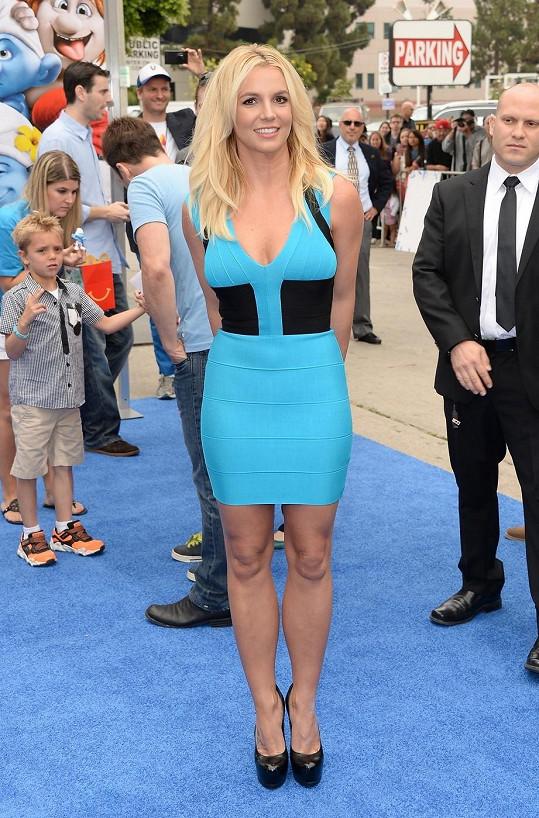 Britney Spears to v poslední době sekne.