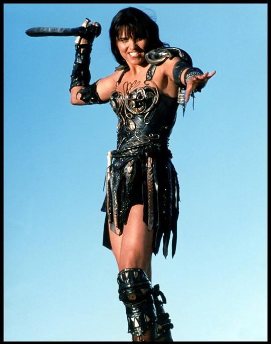 Lucy Lawless hrála princeznu Xenu šest let.