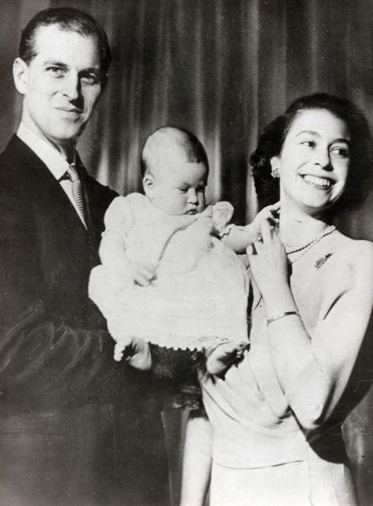 S malým princem Charlesem