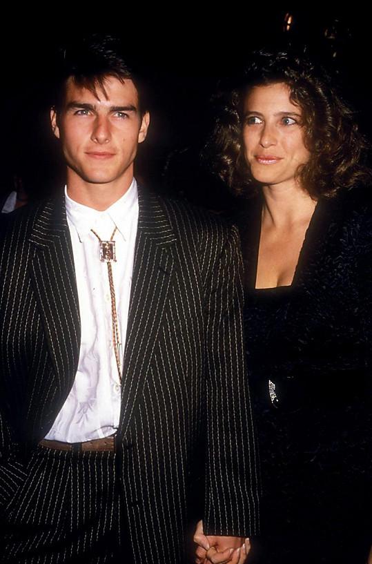 Tom Cruise a Mimi Rogers