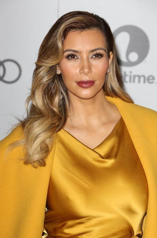 Současná podoba Kim Kardashian