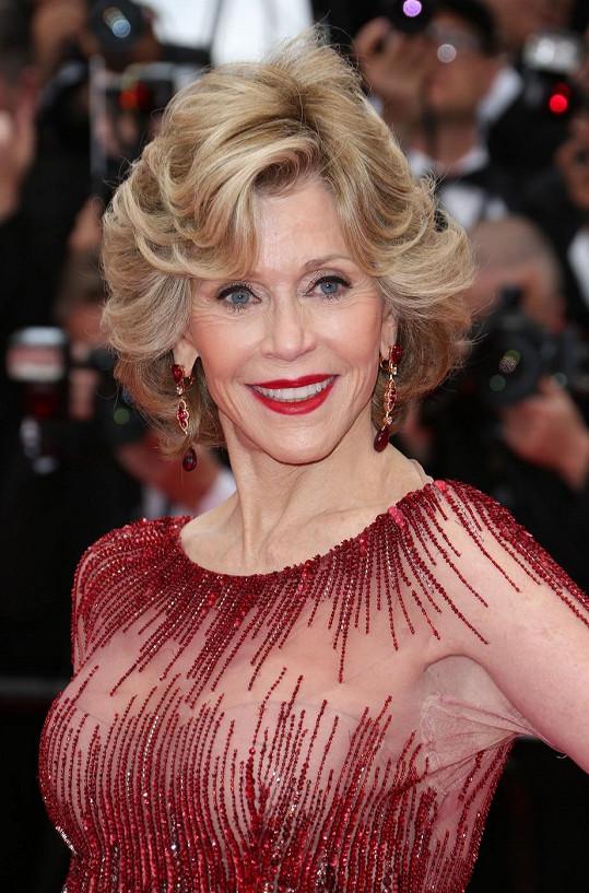 Jane Fonda a Cannes k sobě patří už dlouhou řadu let.