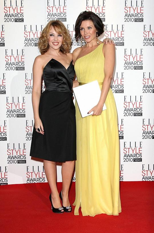 Kylie a Danni Minogue.